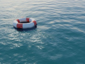 Life-Buoy-in-the-Water